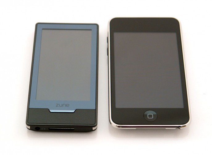 Zune HD vs. iPod touch