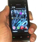 Nokia X6 with Symbian