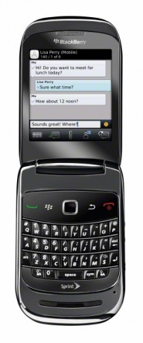 BlackBerry Style 9670 from Sprint