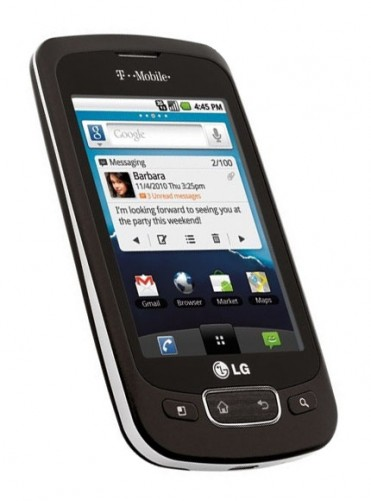 LG Optimus T from T-Mobile