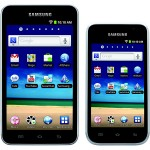 Samsung Galaxy Player 5.0 and 4.0