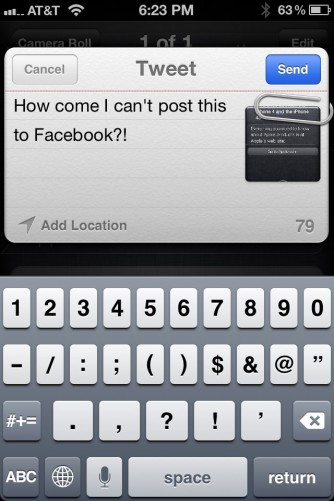 iOS 5 Twitter Integration