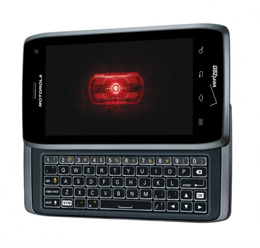 Motorola Droid 4 -- Front View