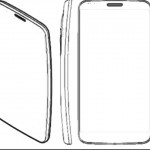 LG G Flex prototype drawings