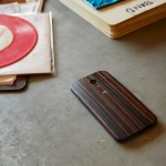 Moto X wooden back option - ebony