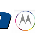 Lenovo and Motorola logos