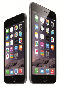 Apple iPhone 6 and iPhone 6 Plus slanted