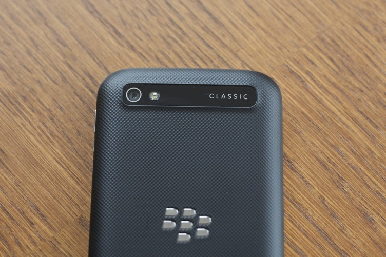 BlackBerry Classic back