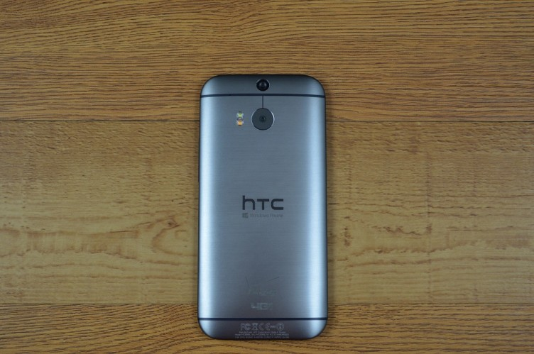 HTC One (M8) for Windows back