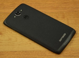 Motorola Droid Turbo ballistic nylon stitching