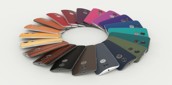 New Moto X colors